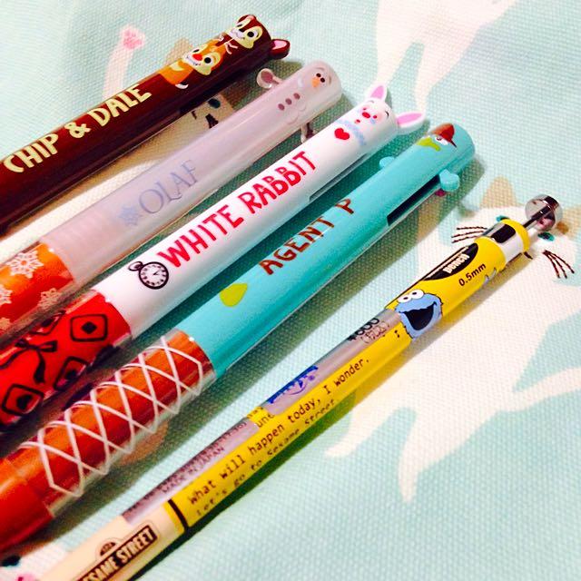 日本直送🇯🇵迪士尼系列雙色筆!