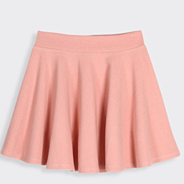 自行開價 粉色百摺裙