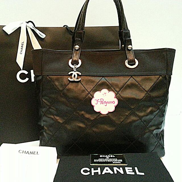 52e8910e84ec Authentic Chanel Paris Biarritz Medium Tote Bag {{ Only For Sale }} ** NO  TRADE ** Fixed Price Non-Neg ** 定价 **, Luxury on Carousell
