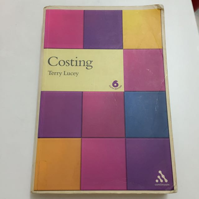Costing Text Book By Terry Lucey