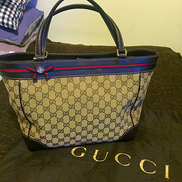 Gucci 手提/肩背 兩用包