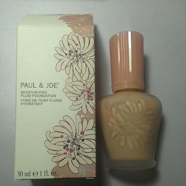 Paul&Joe 糖瓷橙花粉底液 全新含盒