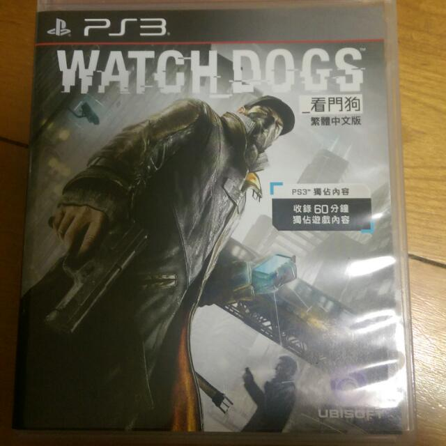 PS3二手 看門狗