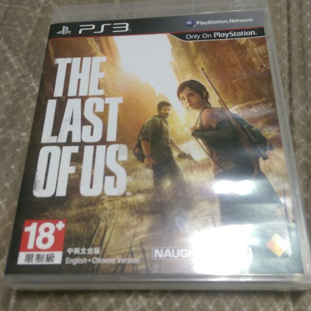PS3二手 最後生還者