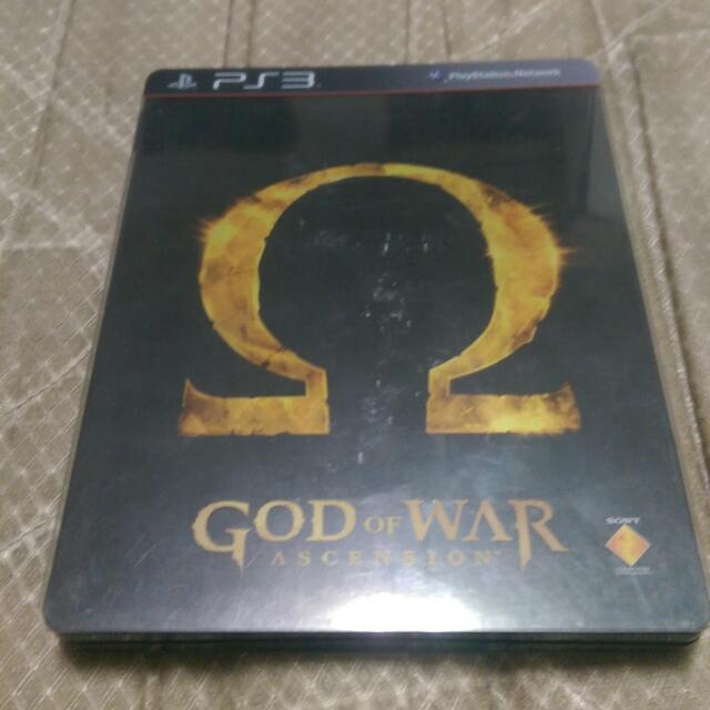 PS3二手 戰神 崛起
