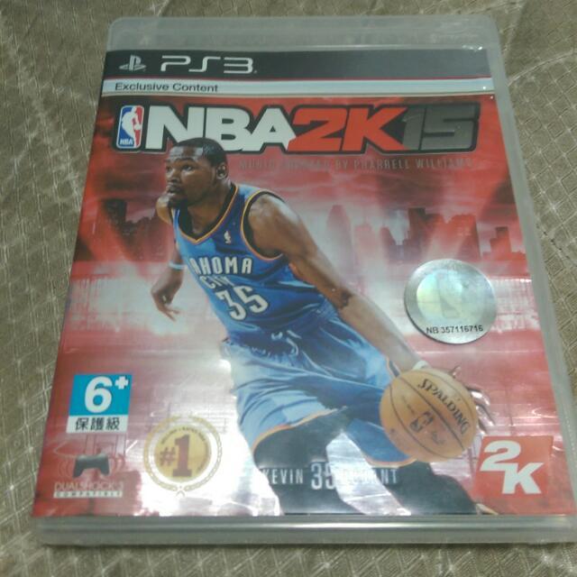 PS3二手 NBA 2K15