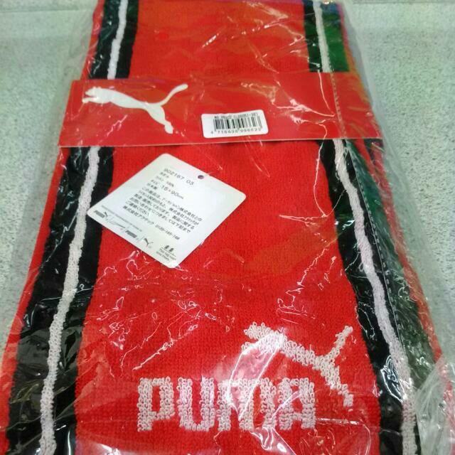 🌼全新puma運動毛巾