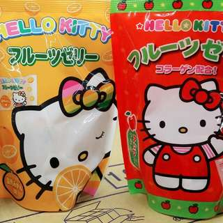 Hello kitty 果凍系列