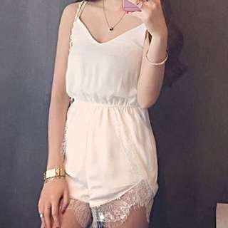 Lace Runner Romper