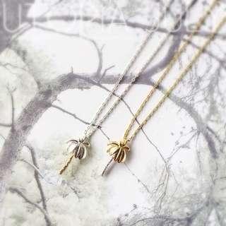 預購款⚓️韓版韓劇女星孔孝珍代言超可愛個性拼色立體小椰子項鍊 共兩款