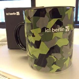 知名品牌 ic! Berlin 限量迷彩馬克杯