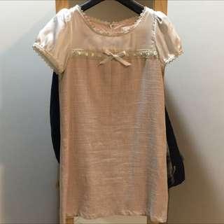 百貨專櫃NR日系連身小洋裝