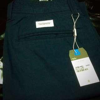 ✅降價⚠️REPUTATION 頂級貼布束口工作褲藍色-M