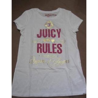 Juicy Couture 女童經典款字母LOGO棉T  尺寸:10號 約10歲 肩寬約:30公分.胸寬約:34公分.全長約:54公分 全新商品~吊牌在 $300免運
