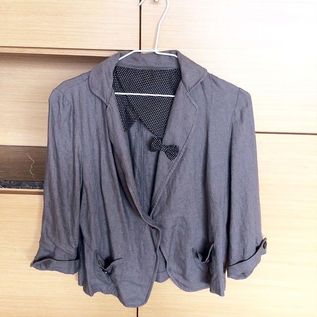 韓版短西裝外套