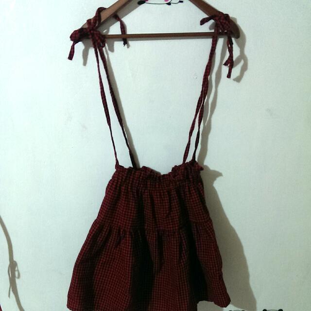 綁帶吊帶裙