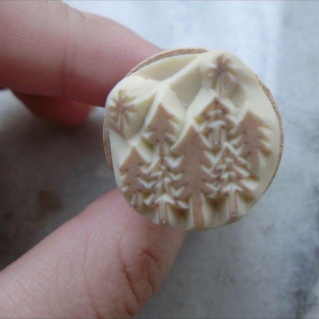 聖誕節實用小印章(雙面)