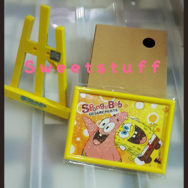 ●全新●♡海綿寶寶彩色相框-黃♡