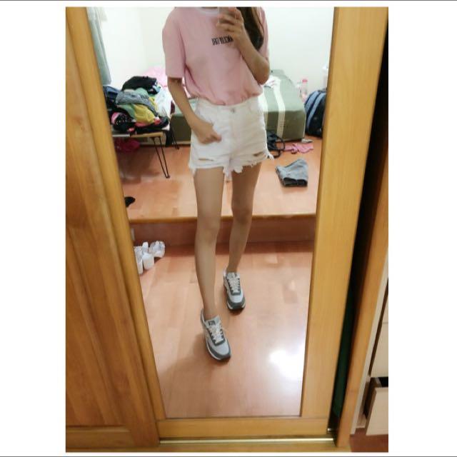 (全新)韓版粉色上衣