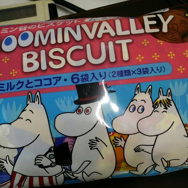 「日本進口」嚕嚕米造型餅乾-量販包(需預購)