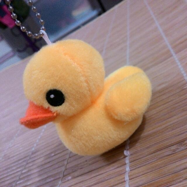 黃色小鴨吊飾