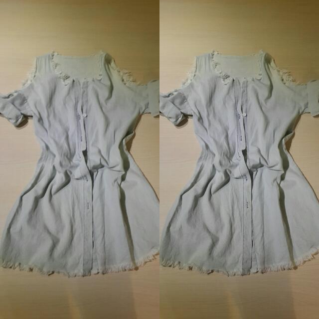 一件式-牛仔洋裝