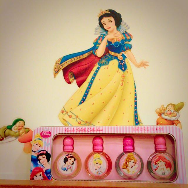 迪士尼公主香水