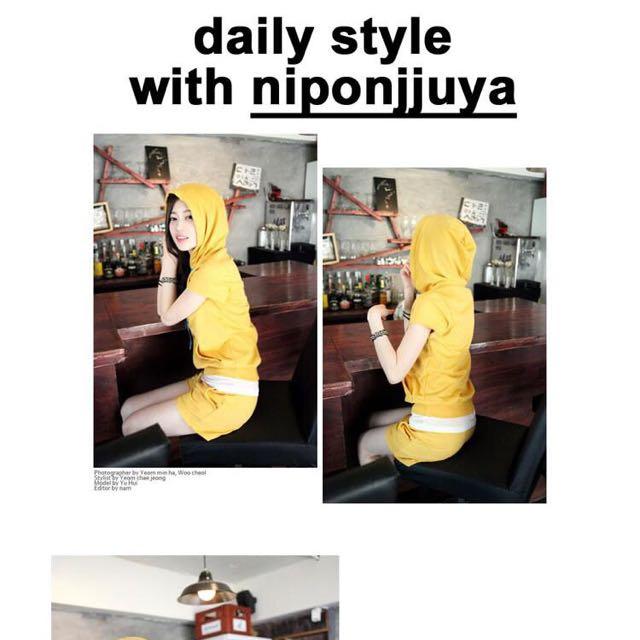 運動套裝 芥末黃