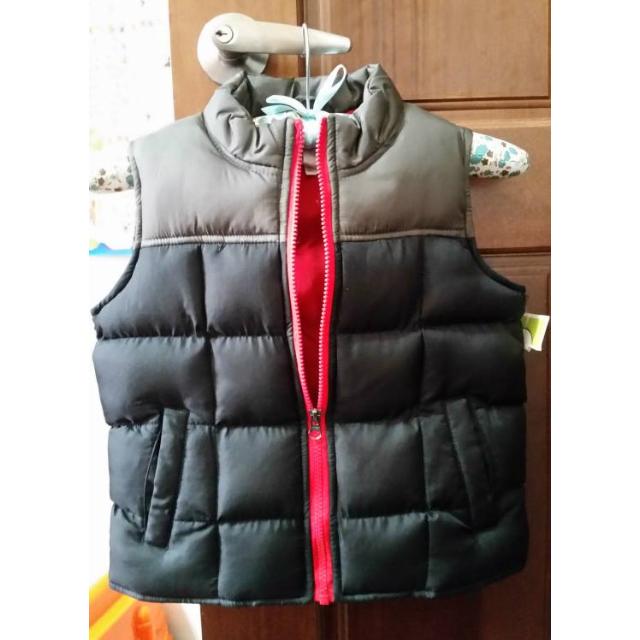美國購回 小男童鋪棉厚背心 尺寸:5 全新商品 $500免運