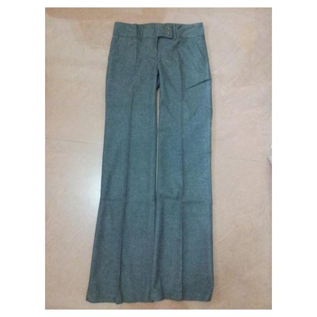 台灣製自有品牌 OL長褲 尺寸:S 腰寬:35公分 臀寬:45公分 全新商品無吊牌 $200免運