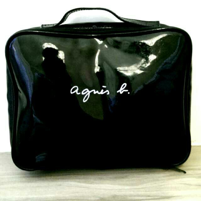 agnes b防水化妝包
