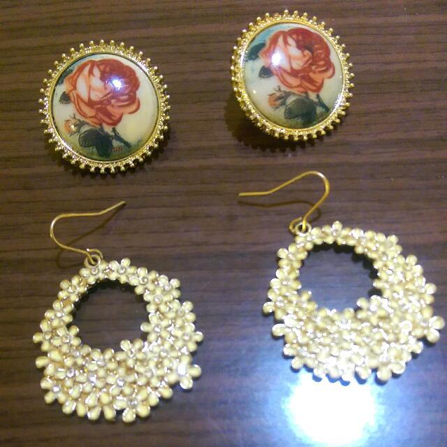 ALDO自己的二手耳環 一起售出!