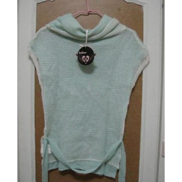 百貨專櫃baiter 毛海繫腰上衣 尺寸: F SIZE M號以下可以穿 全新商品無吊牌 $200免運