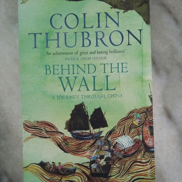 behind the wall thubron colin