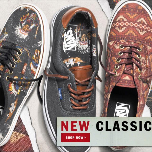 8b67fd6831f967 BN Vans Era 59 Dark Shadow Tribal Leader Shoes
