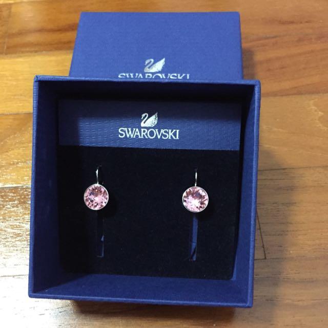 4d871e556 Brand New Swarovski Bella Mini Pierced Earrings, Women's Fashion, Jewellery  on Carousell