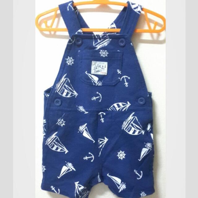 (待匯)Carter's吊帶短褲(6m)