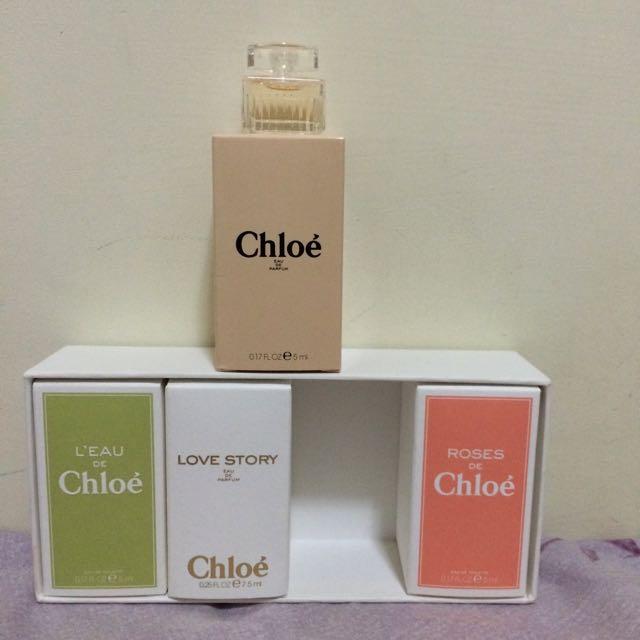 Chloe 精典淡香精 5ml