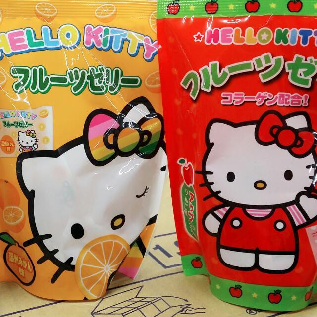 Hello kitty 果凍系列