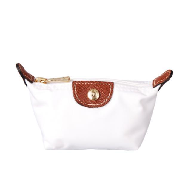 降✨全新正品Longchamp 經典迷你水餃領錢包