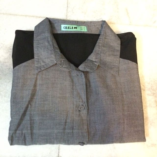 RAGLAN BUTTON UP (REDUCED)