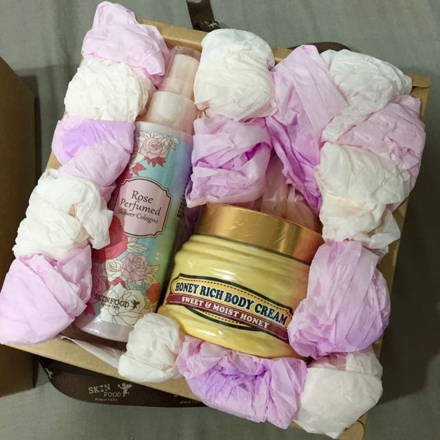 Skinfood身體保濕禮盒
