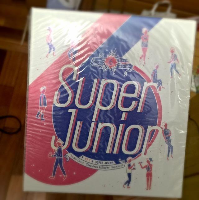 SUPER JUNIOR SPY 專輯