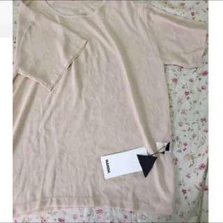 全新轉賣 ✨膚色比基尼罩衫長版