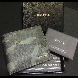 wts: Brand New Authentic Prada Camouflage Wallet