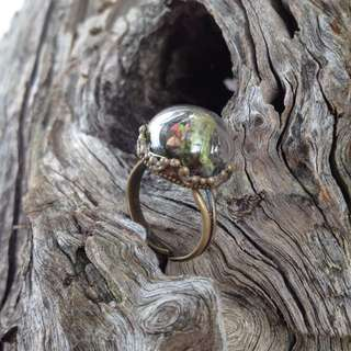 Mini Forest Terrarium Ring