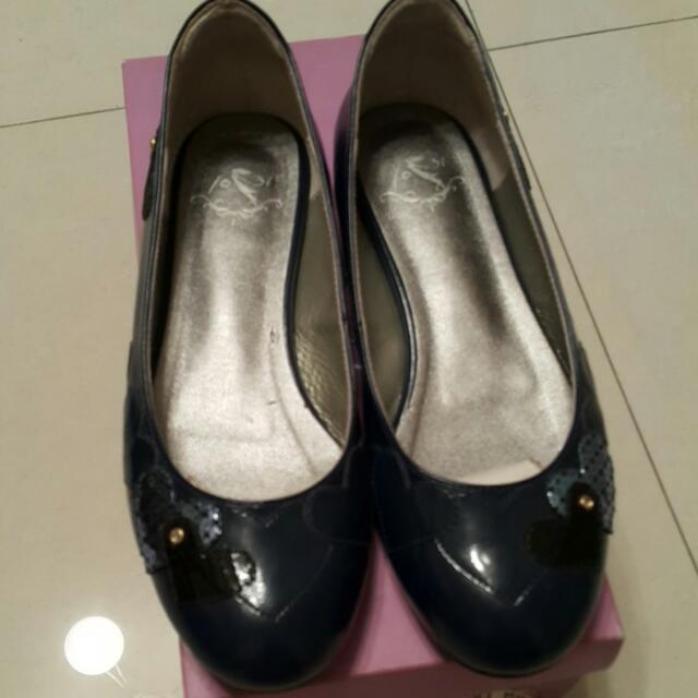 1031,藍色娃娃鞋