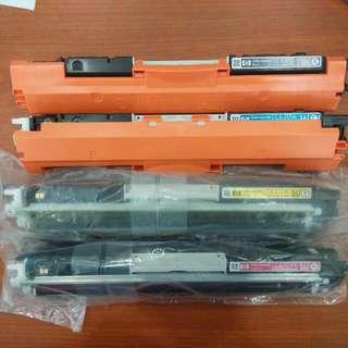 HP Laserjet Printer Toner CE310,311,312,313