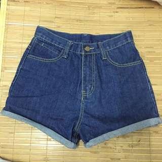 高腰 牛仔短褲(含運)