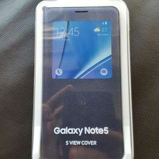 BNIB Original Note 5 S View Cover (Sealed)